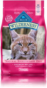 Blue Buffalo Wilderness Salmon Recipe Adult Dry Cat Food - NJ Pet Supply
