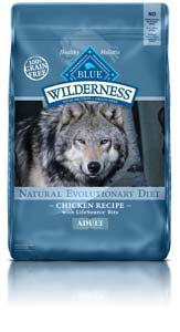 Blue Buffalo Wilderness Chicken Recipe Dry Dog Food, 4.5-lb at NJPetSupply.com