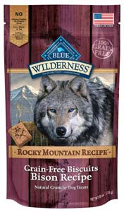 Blue Buffalo Wilderness Biscuits, Rocky Mountain Recipe Bison at NJPetSupply.com