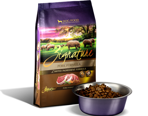 Zignature Pork Limited Ingredient Diet Dry Dog Food