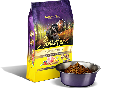 Zignature Turkey Limited Ingredient Formula Dry Dog Food at NJPetSupply.com