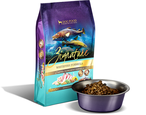 Zignature Whitefish Limited Ingredient Formula Dry Dog Food at NJPetSupply.com