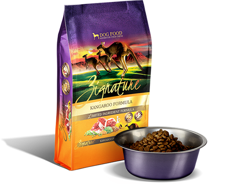 Zignature Kangaroo Limited Ingredient Formula Dry Dog Food at NJPetSupply.com