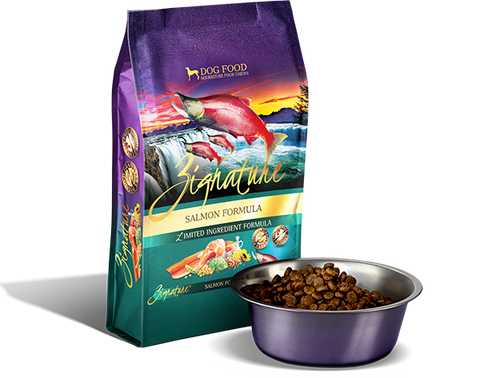 Zignature Salmon Limited Ingredient Formula Dry Dog Food at NJPetSupply.com