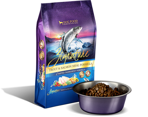 Zignature Trout & Salmon Limited Ingredient Formula Dry Dog Food