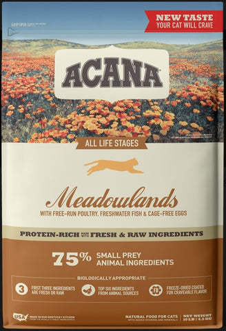 Acana Regionals Meadowlands Dry Cat Food