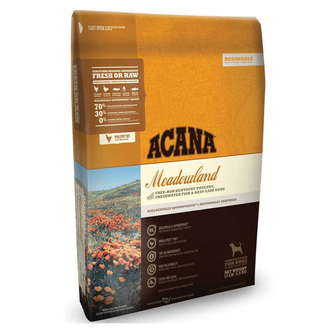 Acana Regionals Meadowlands Dry Dog Food, 4.5 Pound Bag at NJPetSupply.com