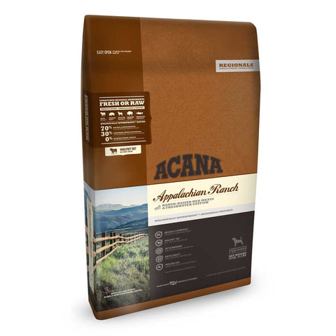 Acana Regionals Appalachian Ranch Dry Dog Food, 4.5 Pound Bag at NJPetSupply.com