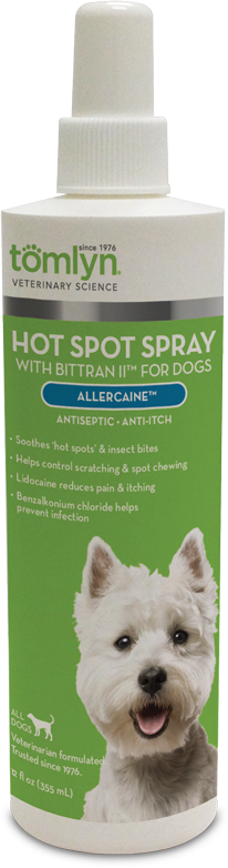 Tomlyn, Allercaine Hot Spot Spray