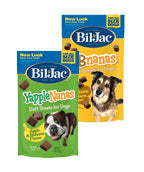Bil Jac Yapple-Nanas & PB-Nanas Soft Dog Treats, 4-oz - NJ Pet Supply