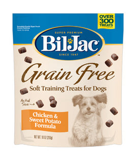 Bil Jac Grain Free Treats with Chicken & Sweet Potato - NJ Pet Supply