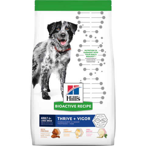 Science Diet Bioactive Thrive + Vigor Large Breed Adult 6+  Dry Dog Food at NJPetSupply.com