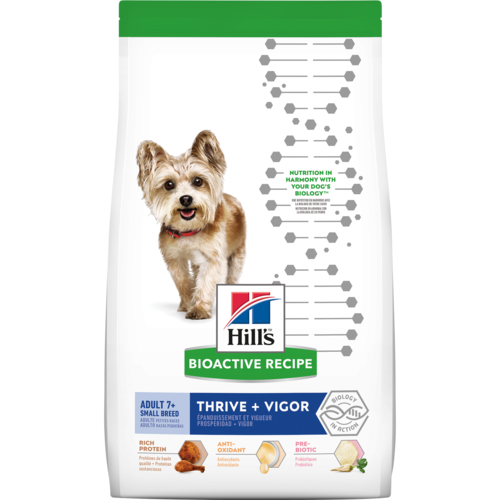 Science Diet Bioactive Thrive + Vigor Small Breed Adult 7+ Dry Dog Food at NJPetSupply.com