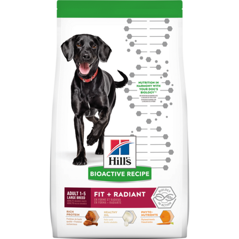 Science Diet Bioactive Fit + Radiant Large Breed Adult Dry Dog Food at NJPetSupply.com