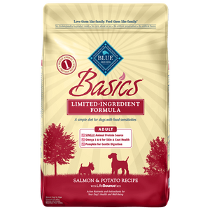 Blue Buffalo Basics Salmon and Potato Dry Dog Food - NJ Pet Supply