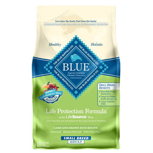 Blue Buffalo Dog Small Breed Adult Lamb Dry Dog Food - NJ Pet Supply