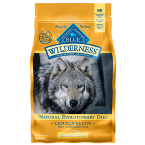 Blue Buffalo Wilderness Healthy Weight Chicken Dry Dog Food, 24-lb at NJPetSupply.com