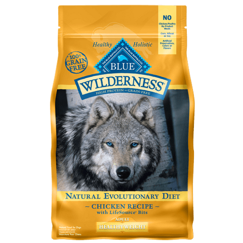 Blue Buffalo Wilderness Healthy Weight Chicken Dry Dog Food - NJ Pet Supply