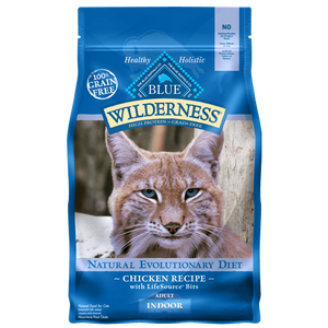 Blue Buffalo Wilderness Indoor Chicken Recipe Adult Dry Cat Food - NJ Pet Supply