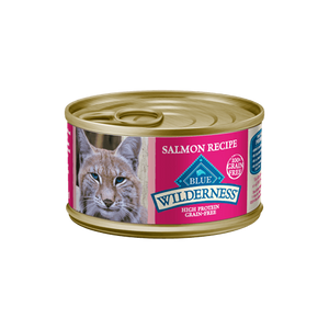 Blue Buffalo Wilderness Salmon Recipe Wet Cat Food - NJ Pet Supply