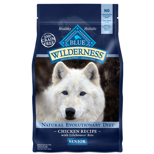 Blue Buffalo Wilderness Senior Chicken Recipe Dry Dog Food - NJ Pet Supply