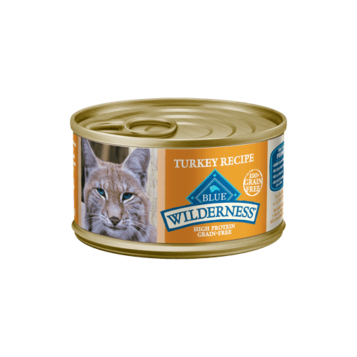 Blue Buffalo Wilderness Turkey Recipe Wet Cat Food - NJ Pet Supply