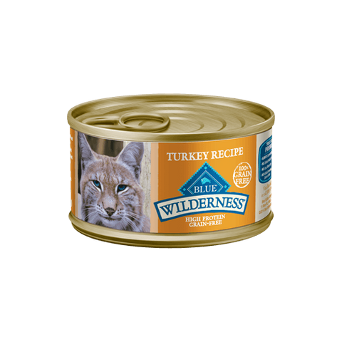 Blue Buffalo Wilderness Turkey Recipe Wet Cat Food at NJPetSupply.com