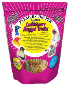 C&S Farmers' Helper Cackleberry Nugget Treat for Birds at NJPetSupply.com