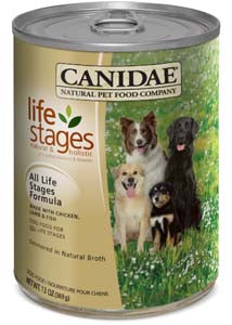 Canidae All Life Stages Chicken, Lamb & Fish Simmered in Natural Broth Canned Wet Dog Food at NJPetSupply.com