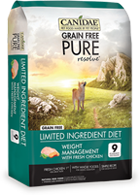 Canidae Grain Free PURE Resolve Weight Management w/Fresh Chicken Dry Dog Food at NJPetSupply.com