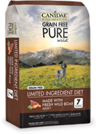 Canidae Grain Free PURE Real Wild Boar and Garbanzo Bean Recipe Dry Dog Food at NJPetSupply.com