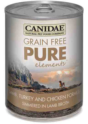 Canidae Grain Free PURE Elements with Lamb Turkey & Chicken Simmered in Lamb Broth Canned Wet Dog Food at NJPetSupply.com