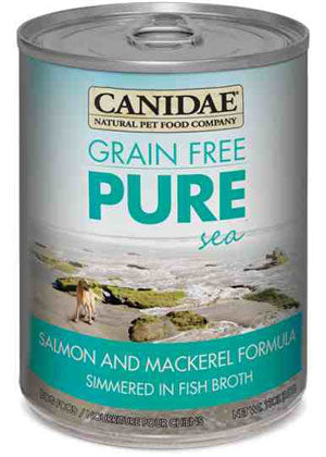 Canidae Grain Free Pure Sea with Salmon & Mackerel Simmered in Fish Broth Canned Dog Food - NJ Pet Supply