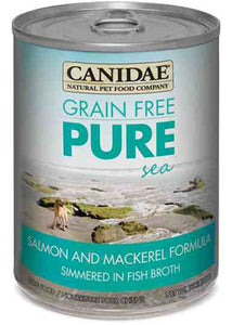 Canidae Grain Free Pure Sea with Salmon & Mackerel Simmered in Fish Broth Canned Wet Dog Food at NJPetSupply.com
