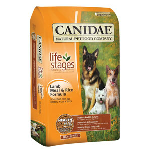 Canidae Life Stages Lamb Meal & Rice Formulated for All Life Stages Dry Dog Food at NJPetSupply.com