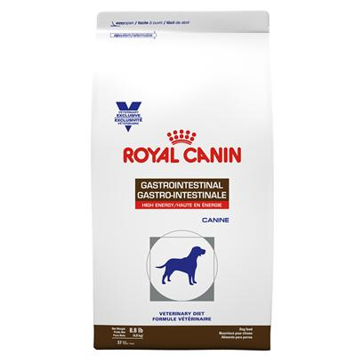 Royal Canin Veterinary Diet Canine Gastrointestinal High Energy Dry Dog Food at NJPetSupply.com