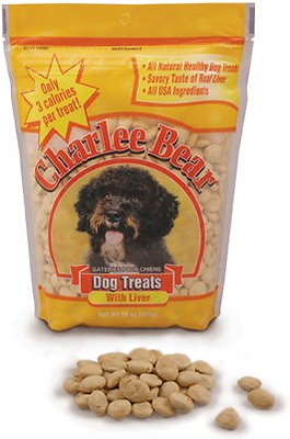 Charlee Bear Dog Treats, Liver Flavor at NJPetSupply.com