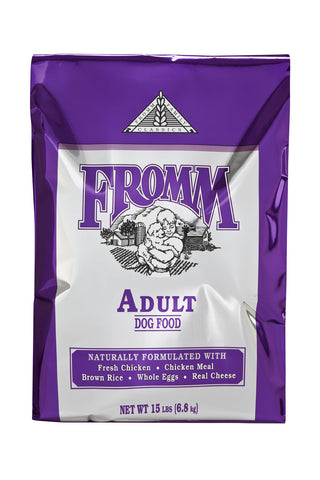 Fromm Classic Adult Dry Dog Food 15-lb at NJPetSupply.com