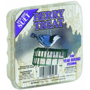 C&S Berry Treat Wild Bird Suet, 12-pack at NJPetSupply.com