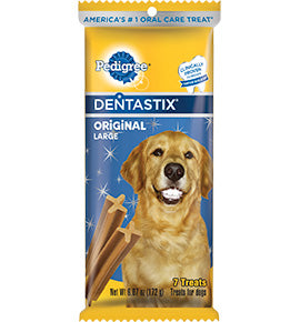 Pedigree DentaStix Daily Oral Care Snack Food - Large