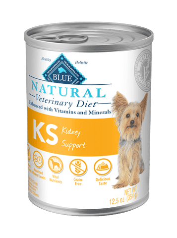 BLUE Natural Veterinary Diet KS Kidney Support Wet Dog Food at NJPetSupply.com