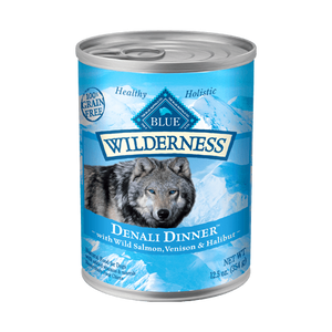 Blue Buffalo Wilderness Denali Canned Wet Dog Food at NJPetSupply.com