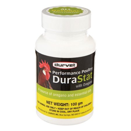 Durvet D-performance Poultry Durastat With Oregano at NJPetSupply.com