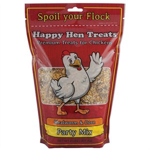 Durvet Mealworm and Corn Party Mix Chicken Treat - NJ Pet Supply