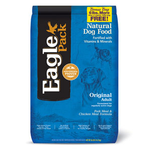 Eagle Pack Original Adult Pork Meal & Chicken Meal Dry Dog Food - NJ Pet Supply