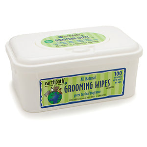 Earthbath Totally Natural Grooming Wipes, Green Tea Leaf Fragrance at NJPetSupply.com