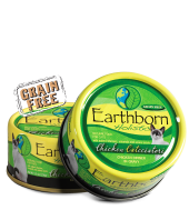 Earthborn Moist Grain Free Holistic Chicken Catcciatori Canned Cat Food - NJ Pet Supply