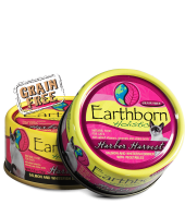 Earthborn Moist Grain Free Holistic Harbor Harvest Canned Cat Food - NJ Pet Supply