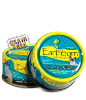 Earthborn Moist Grain Free Holistic Monterey Medley Canned Cat Food - NJ Pet Supply