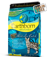 Earthborn Holistic Grain Free Wild Sea Catch Dry Cat Food - NJ Pet Supply